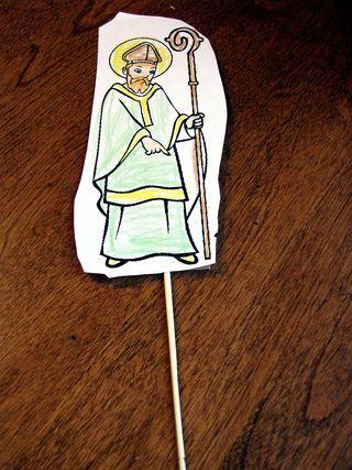 Saint patrick puppet