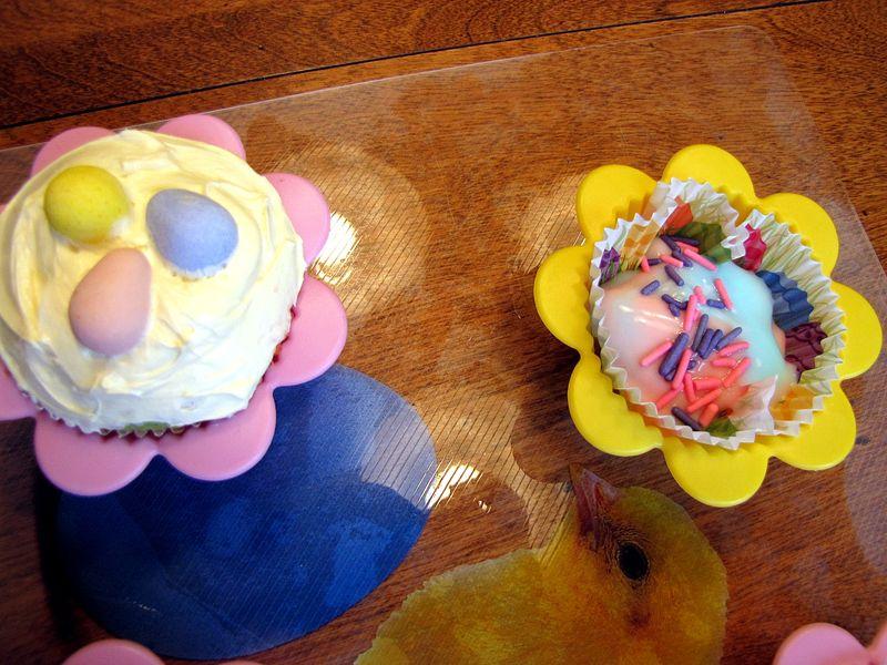 Nest cupcake andyogurt