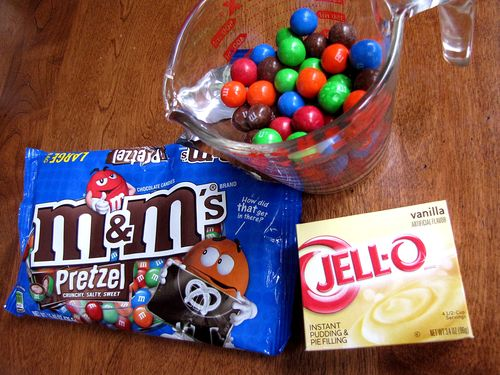 Pretzel m&m cookie ingredients