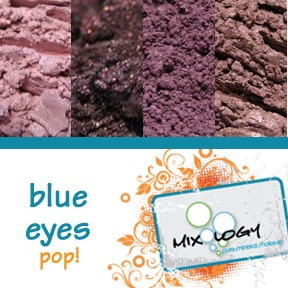 Mixology blue eyes pop