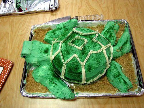 Humane Society fundraiser cub scout cake bake turtle
