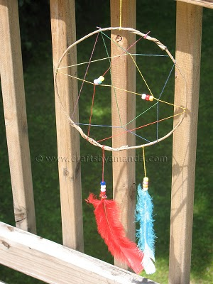 Blog love 4 native american dream catcher from Amandas Crafts
