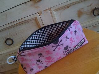 Back to school pencil case inside