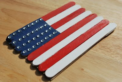 Blog love 7 american flag from popsicle sticks a pumpkin and a princess