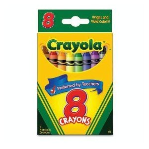 8 ct crayons