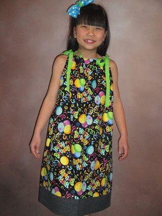 Sewfunforyou pillow case dress