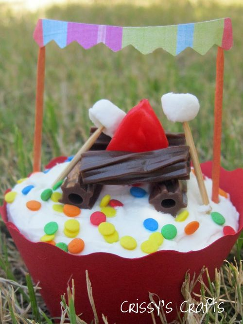 Blog love campfire cupcake