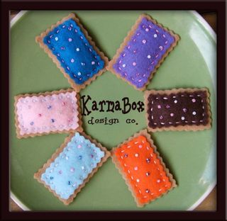 Karma box pop tarts hair clip