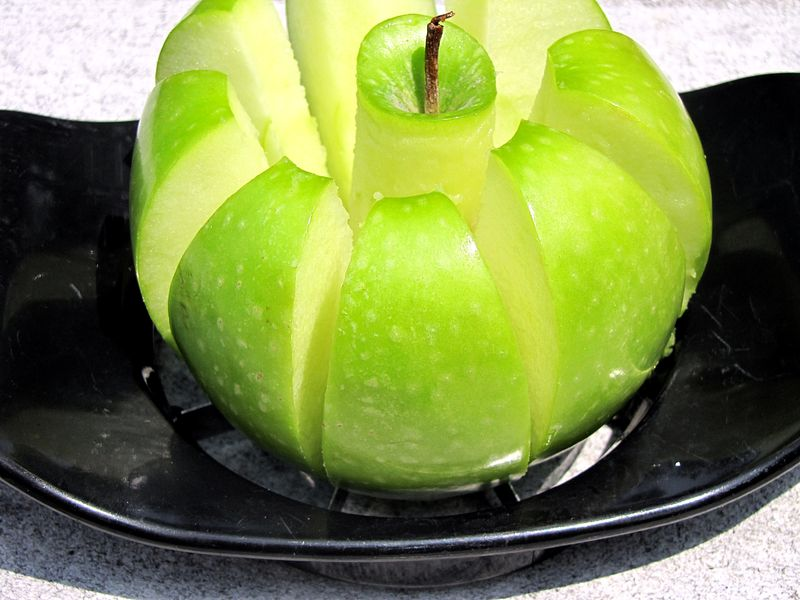 Snickers salad chopped apple 2