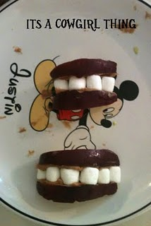Blog love 5 teeth snack from it's a cowgirl thing
