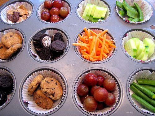 Playdate buffet muffin tin lunch first tin