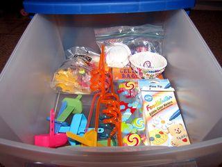 Food craft top drawer organized