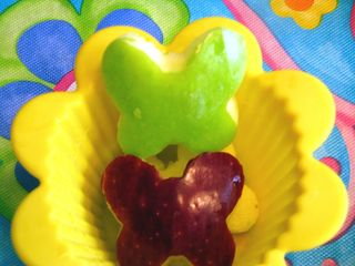 Butterfly apples