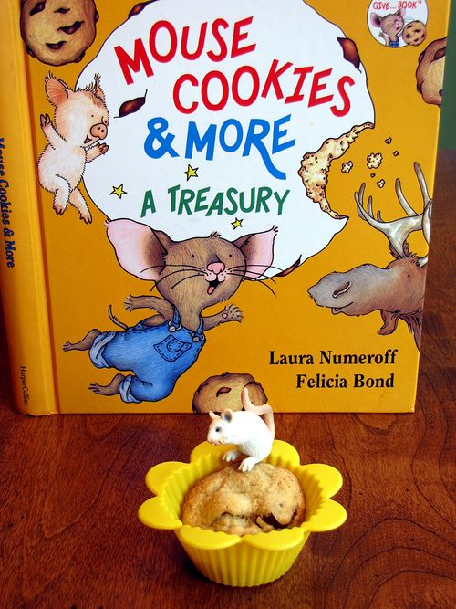 Mouse Cookies Muffin Tin Lunch book