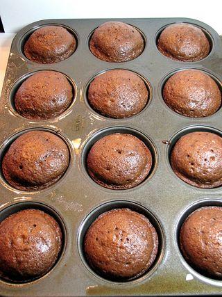 Nutella cupcakes muffin