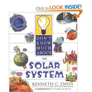 Astronomy don't know much about the solar system book