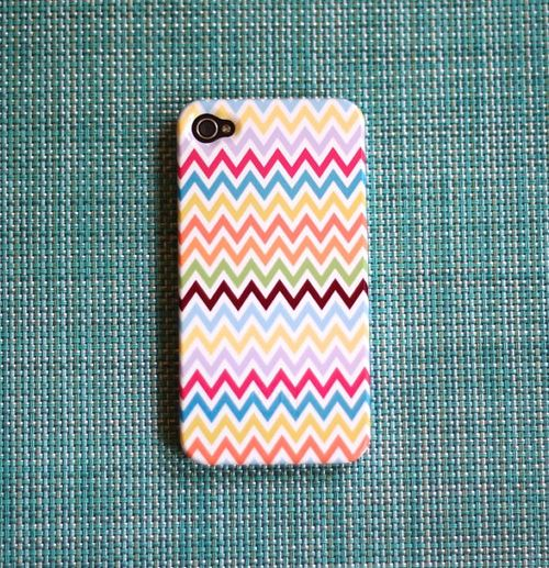 Chevron iphone 4g case fom Pencil Shavings Paper