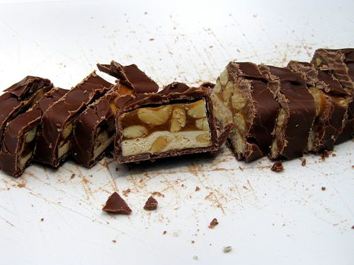 Snickers salad chopped candy