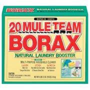 Goo remover Borax