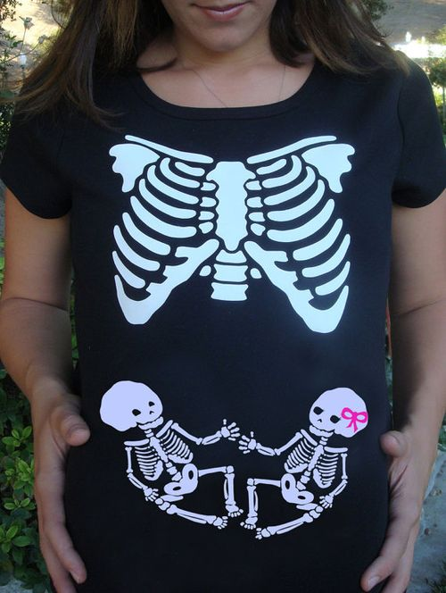 Etsy halloween maternity shirt