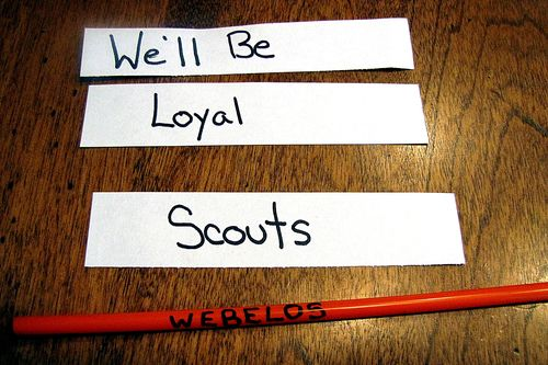 Webelos straw plane paperstrips